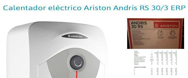 Termo eléctrico Ariston Andris RS 30/3 ERP