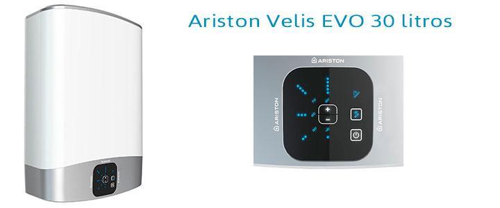 Termo eléctrico Ariston 30 litros Velis EVO