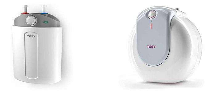Calentador de agua eléctrico Tesy para fregadero
