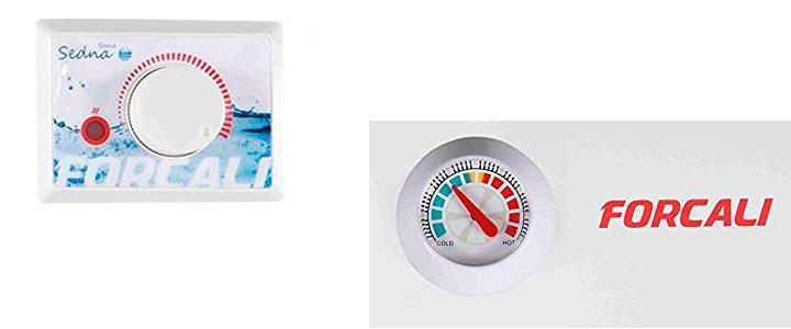 Calentadores Forcali opiniones y precios serie Sedna
