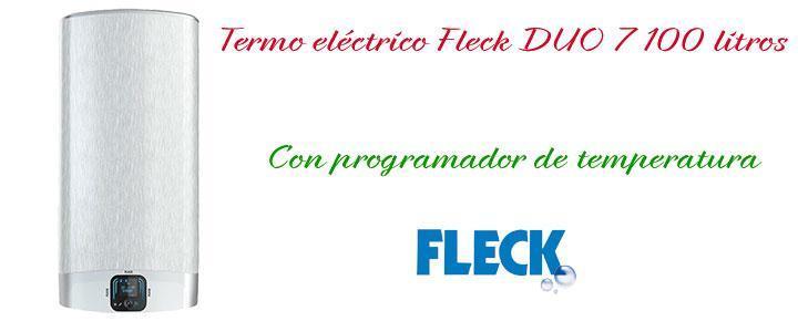 Termo eléctrico Fleck DUO 7 100 litros