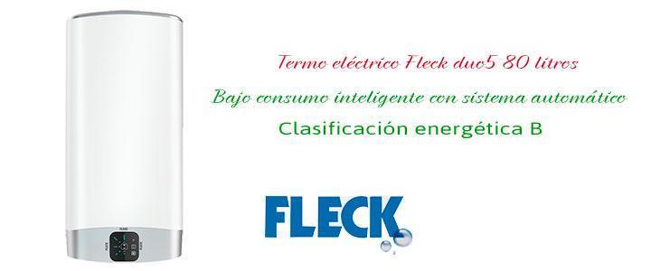 Termo eléctrico Fleck duo5 80 litros