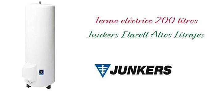 Termo eléctrico termo electrico Junkers 200 litros