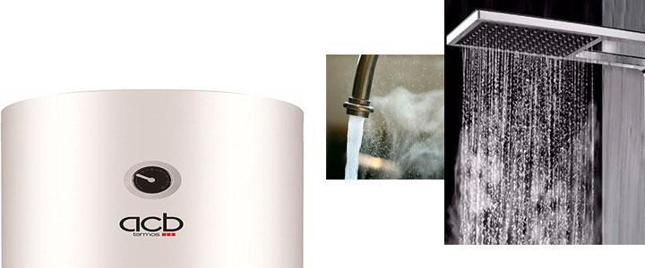Termo calentador acumulador de agua eléctrico acb vertical 100 litros