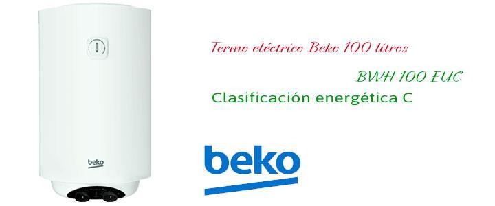 Termo eléctrico Beko 100 litros BWH 100 EUC