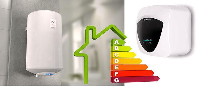 Termos eléctricos de bajo consumo